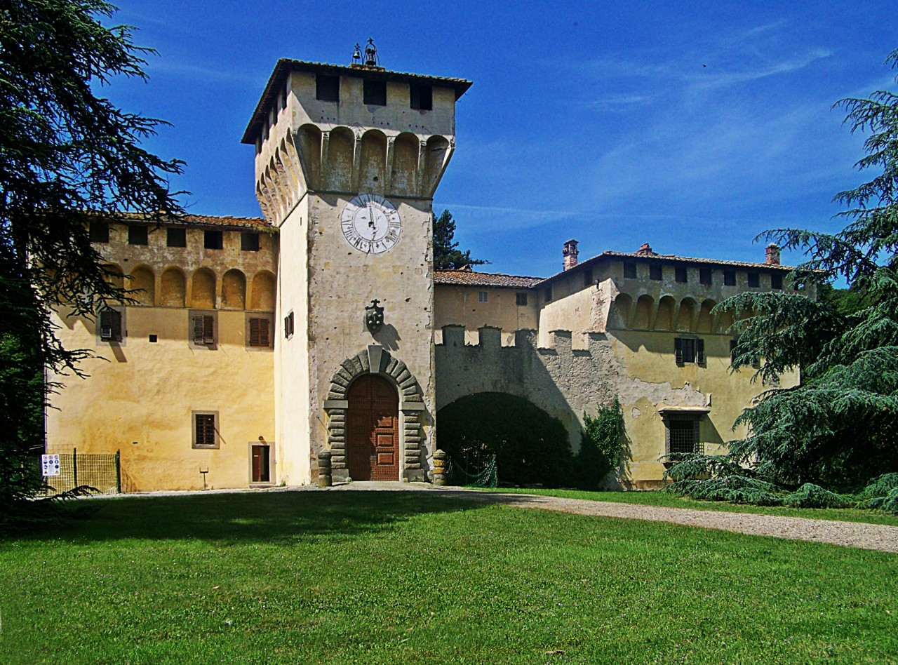Uno sguardo sul Castello di Cafaggiolo